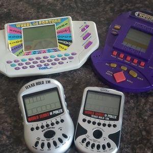 Vintage handheld game bundle